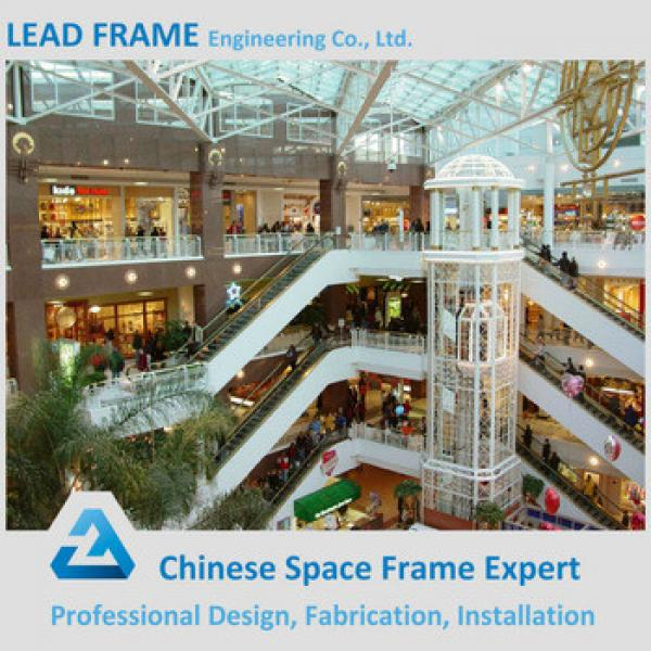 Light steel structure canopy prefabricated shopping center #1 image