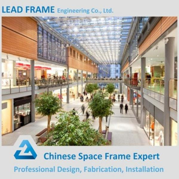 Steel Frame Structure Prefabricated Shopping Mall #1 image