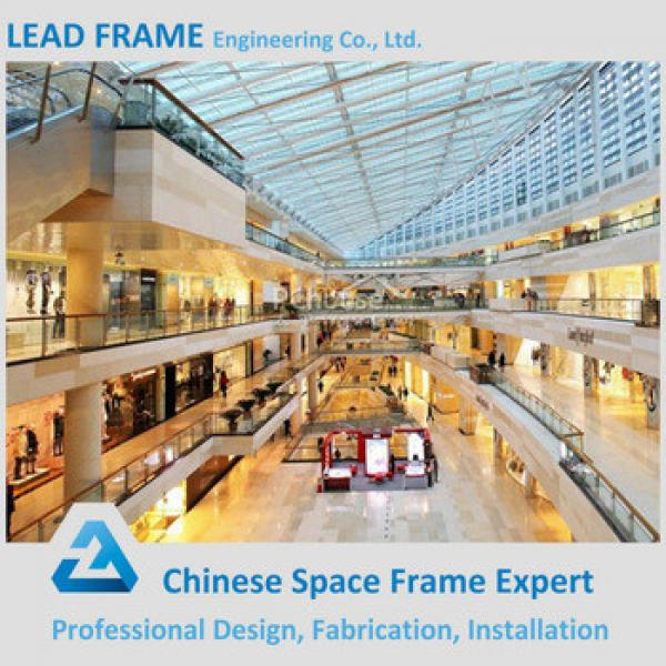Anti-corrorion Long Span Roof Truss Prefab Steel Structure Shopping Mall #1 image