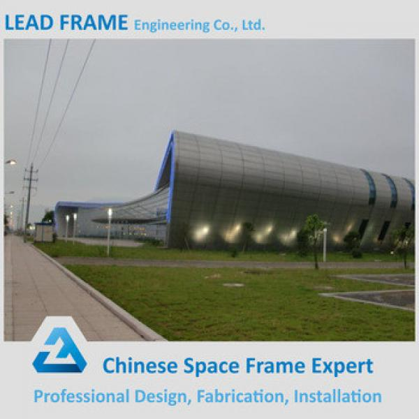 Coloured Steel Space Frame Structure Prefabricated Wedding Halls #1 image