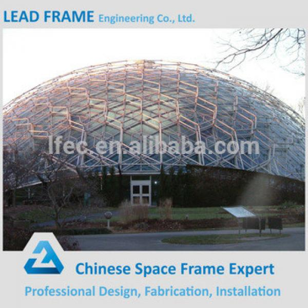 Customized light steel structure space frame prefabricated hall #1 image