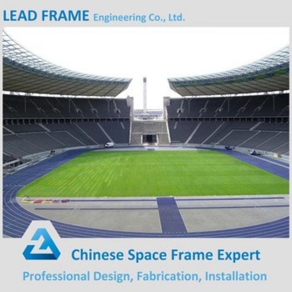 Steel Waterproof space structure bleachers roof #1 image