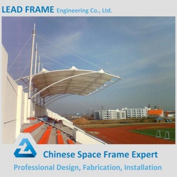 Prefabricated Light Steel Space Frame Stadium Bleachers #1 image
