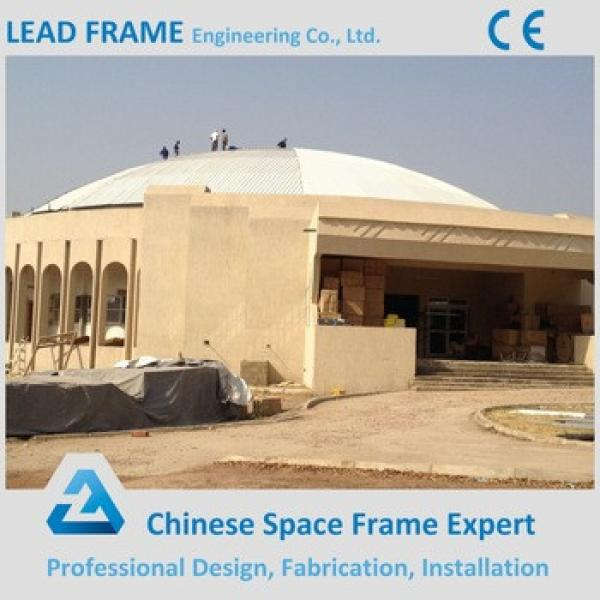 Steel frame space truss structure prefabricated hall #1 image