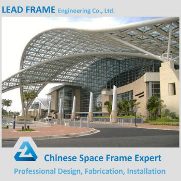 Anti Corrosive Paint Steel Space Frame Structure Prefabricated Wedding Halls #1 image
