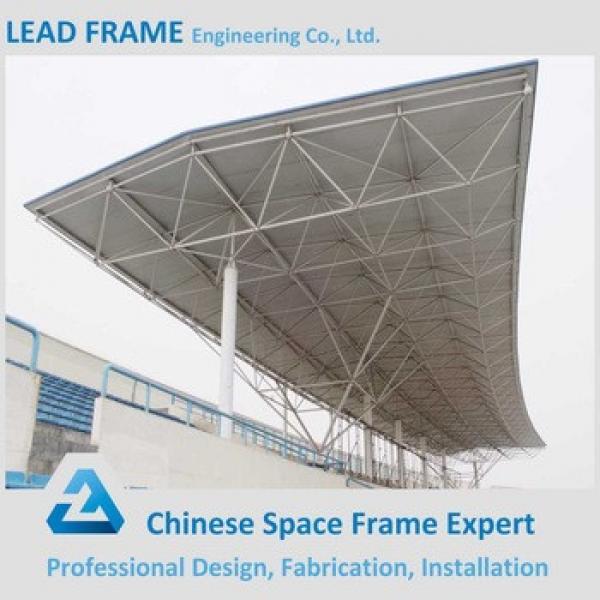 Galvanized Prefabricated Steel Space Truss for Stadium #1 image
