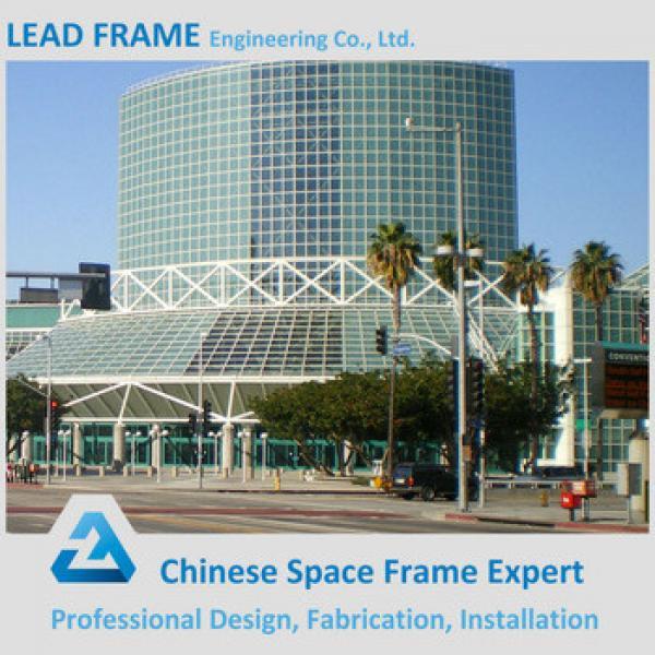 Xuzhou Lead Frame Steel Space Frame Long Span Roof Prefabricated Hall #1 image