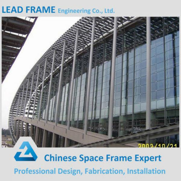 2017 Hot Sale Prefab Glass Structure Building Made In China #1 image