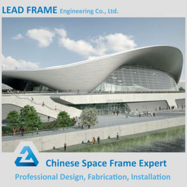 Bolt Ball Jointed Steel Space Frame Structure Prefabricated Wedding Halls #1 image