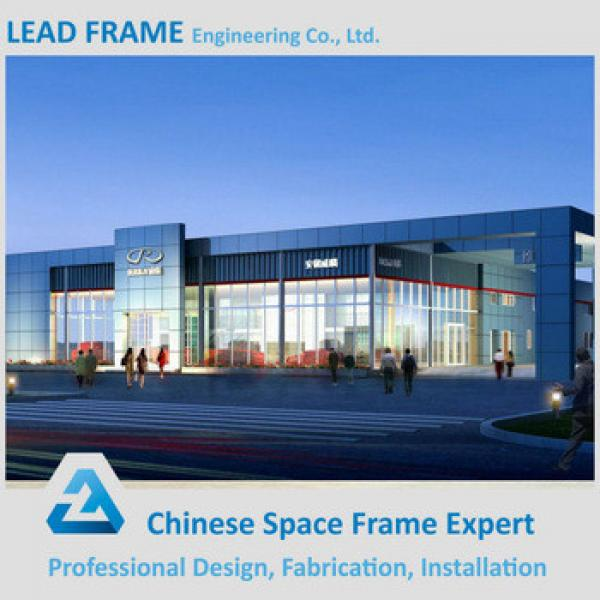 Customized Steel Space Frame Structure Prefabricated Wedding Halls #1 image