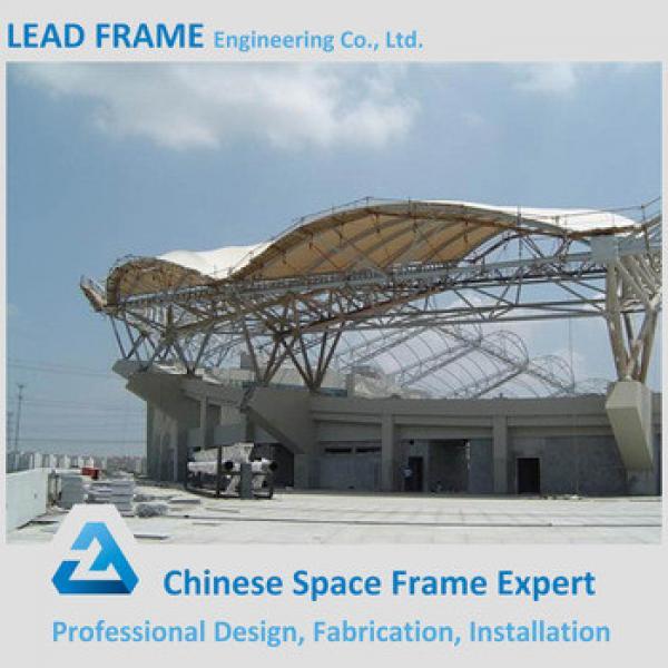 Prefab Outdoor Stadium Bleachers Steel Structure for School #1 image