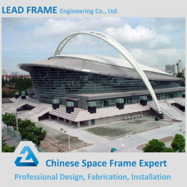 Beautiful appearance steel stadium with metal roof #1 image
