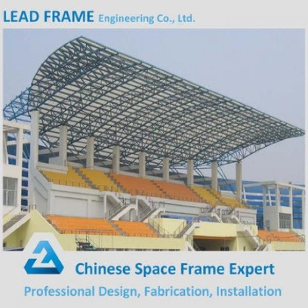 Prefab space frame stadium bleachers #1 image