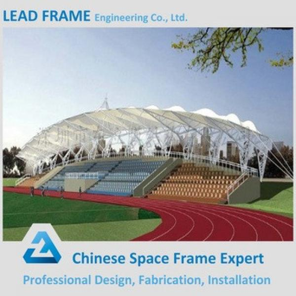 long span prefabricated light steel structure bleacher tent for sale #1 image