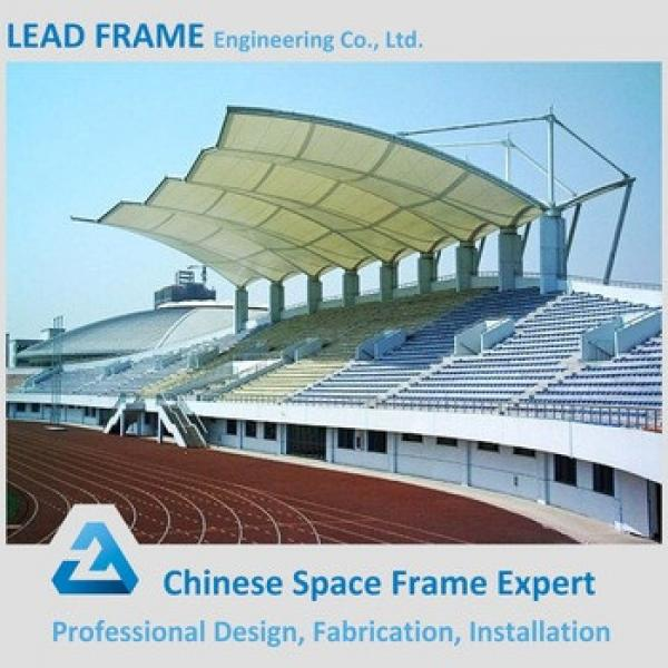 economical space frame roofing for bleacher #1 image
