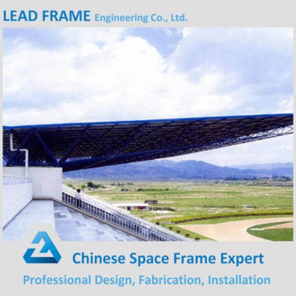 Light Selfweight Prefab Space Frame Bolt Ball Stadium Bleachers #1 image
