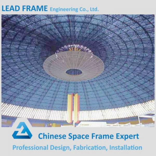 Galvanized steel hall with space frame structure #1 image