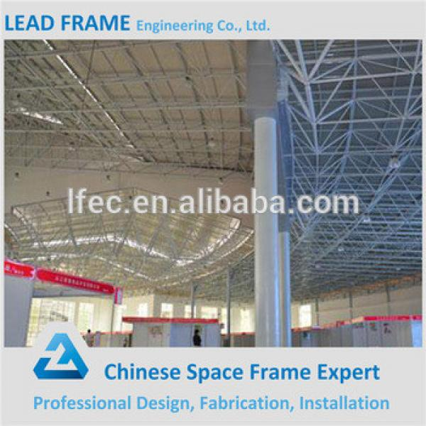 Light steel structure space frame conference hall design with China supplier #1 image