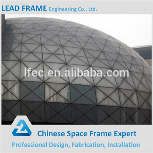 New design light steel space frame for conference hall roof cover #1 image