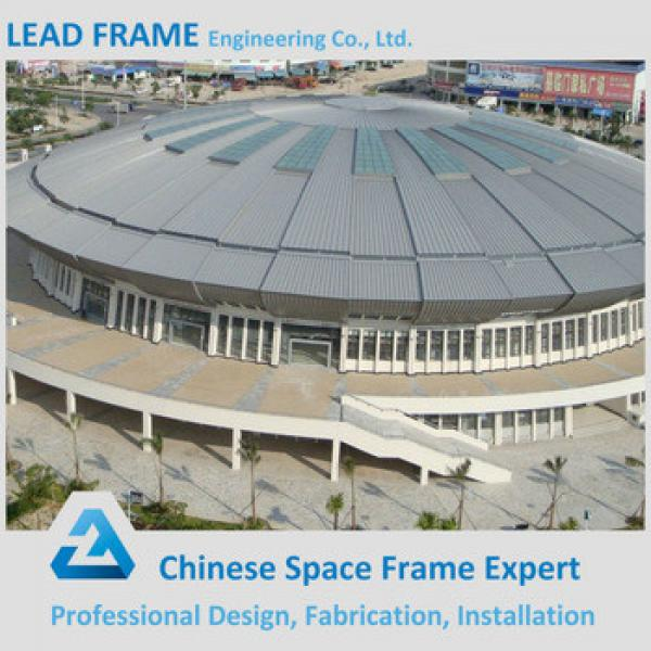Green steel frame structure stadium roof material for sale #1 image