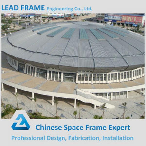 Light steel space frame indoor prefabricated gym #1 image