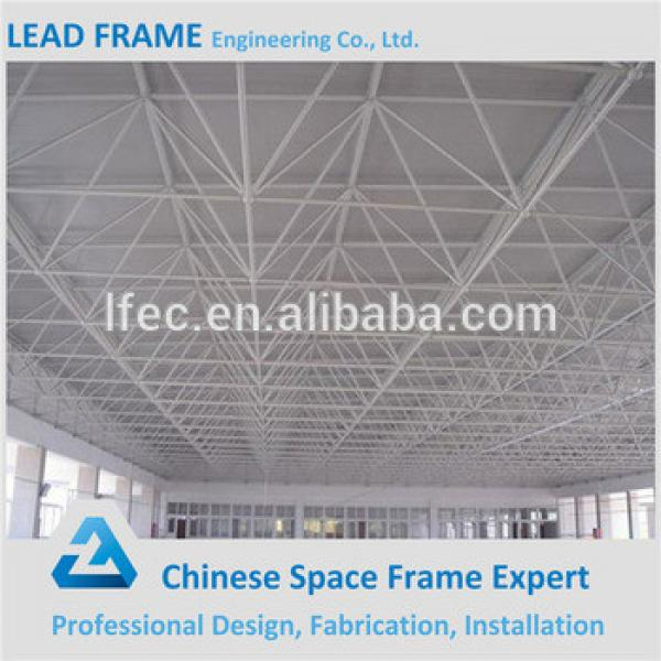 Long span steel space frame for conference hall roof structure #1 image