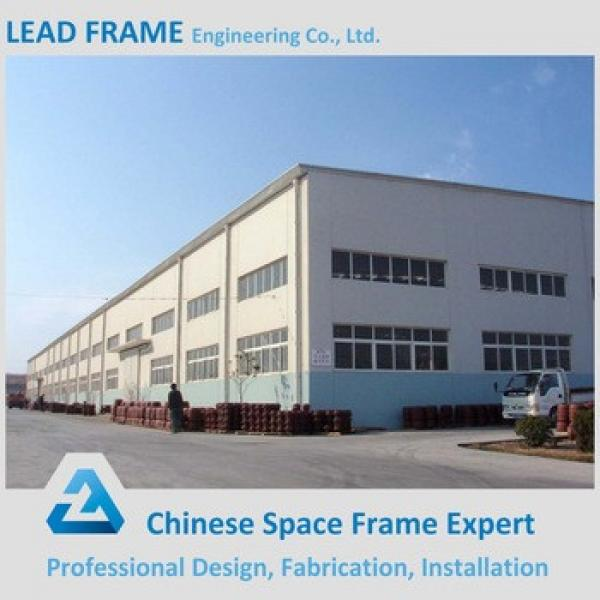 Factory Supply Prefabricated Steel Construction Building Galvanized H beam Frame Large Space Steel Structure Wholesale #1 image