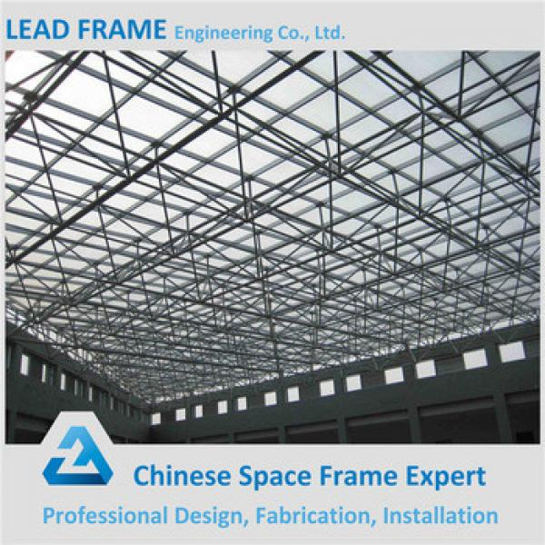 Beautiful appearance steel building space frame roofing #1 image
