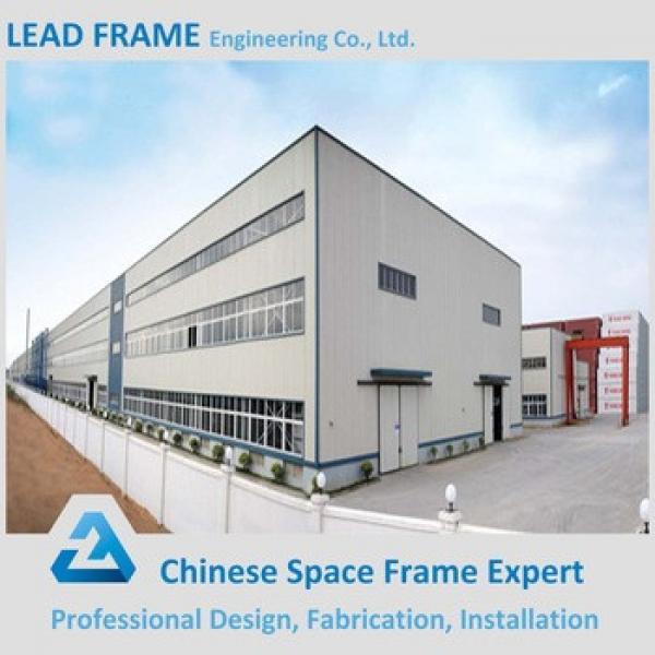 Lightweight steel canopy roof truss low cost prefab warehouse #1 image