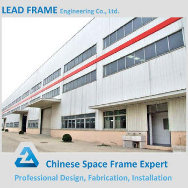economical high quality installation dome roof steel structure warehouse #1 image