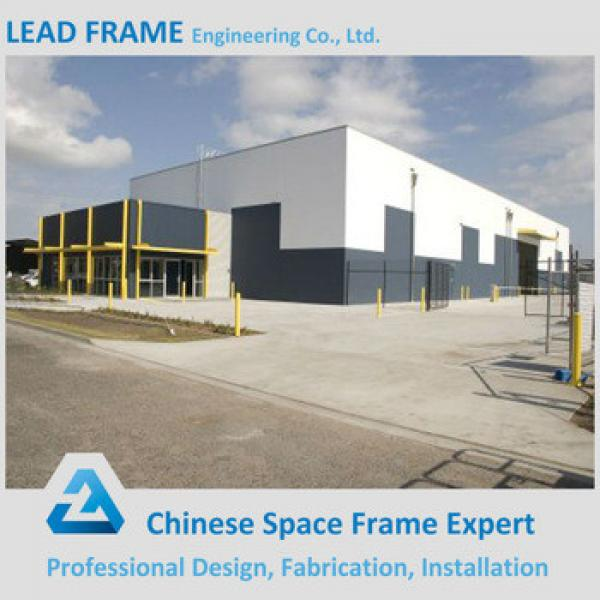 Long Span Steel Structure Prefabricated Warehouse Building #1 image