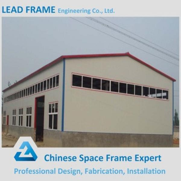 China Supplier Wide Span Customized Steel Structure Building #1 image