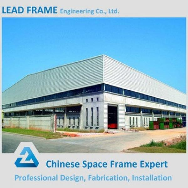 Steel prefabricated warehouse fast building construction #1 image