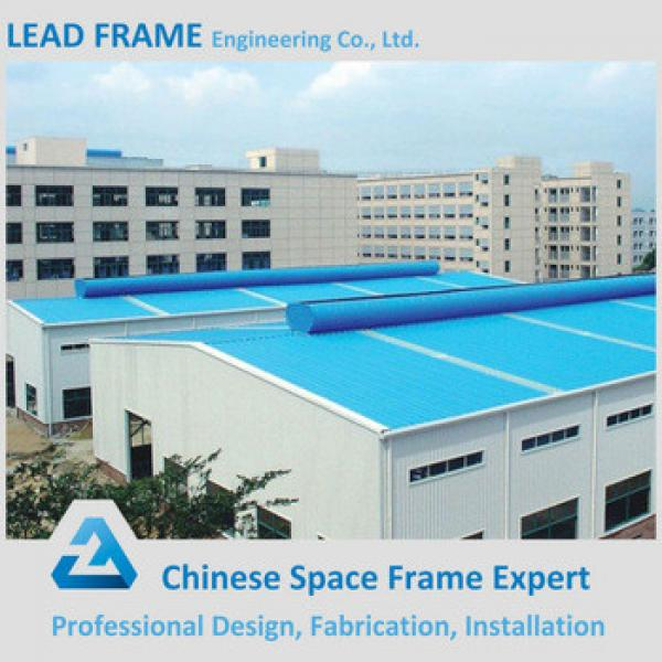 low cost steel structure space frame for workshop #1 image