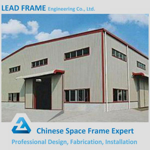 Prefabricated High Quality Steel Construction Factory Building #1 image
