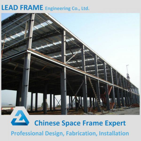Galvanized Steel Roof Truss for High Rise Metal Building #1 image