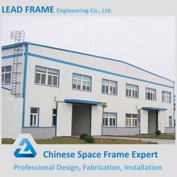 easy quick assemble prefabricated curved steel building warehouse #1 image