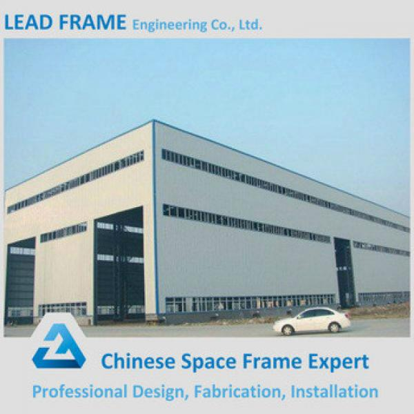 Economical clear span steel building for industrial plant #1 image