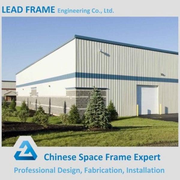 Economical Light Steel Building Fabric Storage Shed #1 image