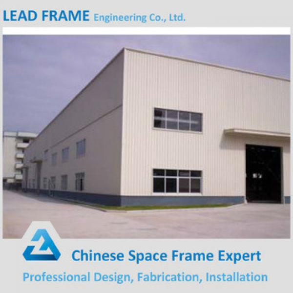 Light Weight Steel Space Frame Prefabricated Warehouse Building #1 image