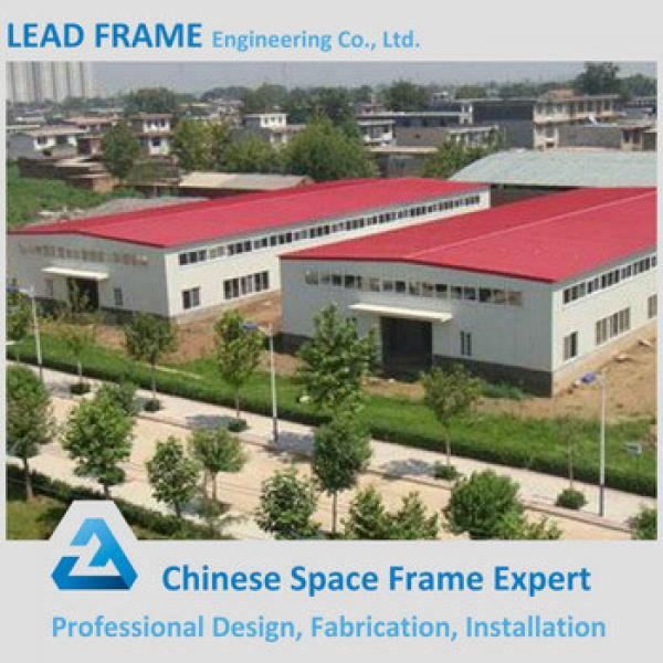 Prefabricated space frame steel structure workshop #1 image