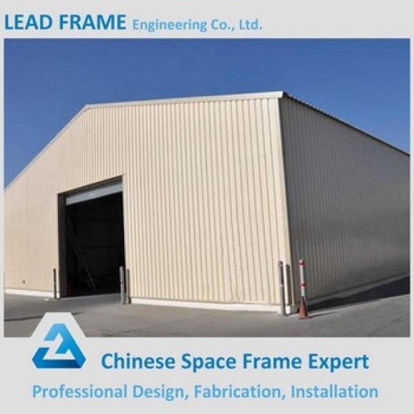 Prefab Warehouse Metallic Roof Structure from China #1 image