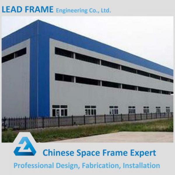 Light weight prefabricated steel building workshop plant factory #1 image