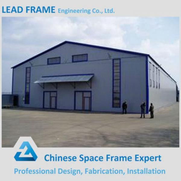 China Supplier Windproof Columless Light Frame Famous Steel Structure Buildings #1 image