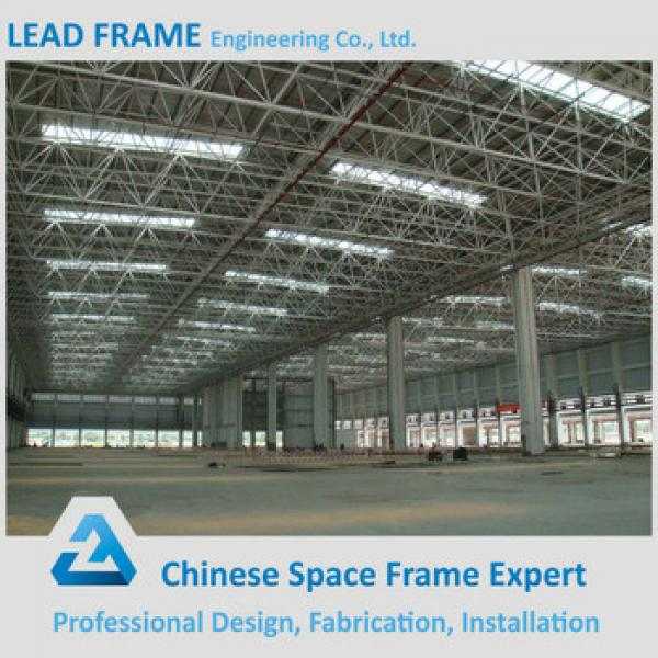 2016 Hot Sale Prefabricated Space Frame Steel Structure Building #1 image