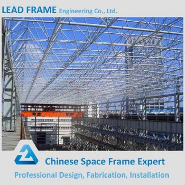 High quality prefabricated curved steel building warehouse #1 image