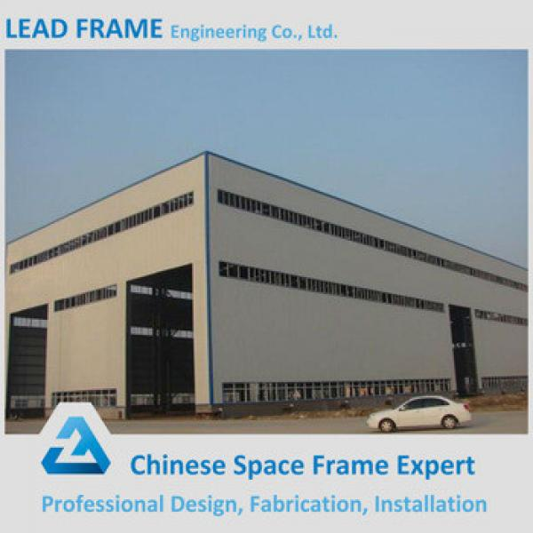 Space Frame Fabrication Steel Structure Workshop Roofing Shed #1 image