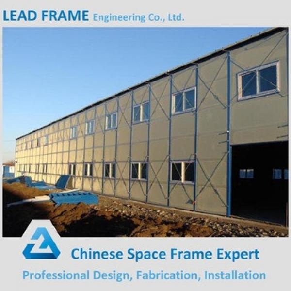 High Quality Prefab Two Story Steel Structure Warehouse #1 image