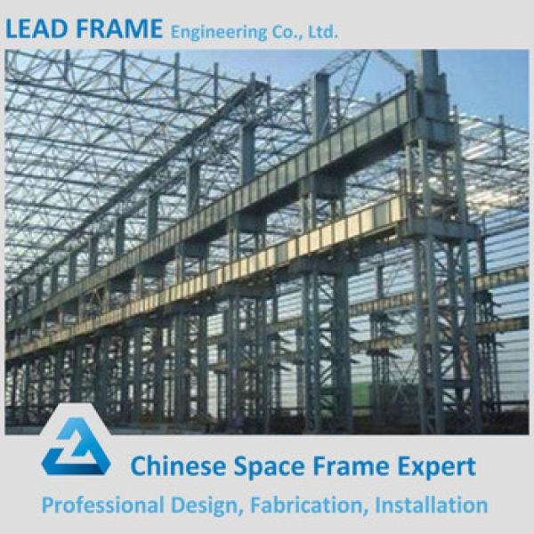 High Rise Steel Sandwich Panel Roofing Prefab Warehouse for Sale #1 image