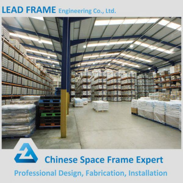 Columnless Professional New Design Steel Structure Fabricated Warehouse #1 image